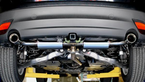 CorkSport Mazda CX-5 Exhaust installed
