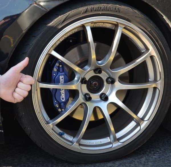 Picture of CorkSport Mazda Performance Mazdaspeed brake kit