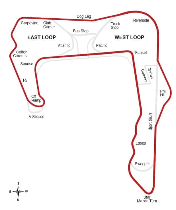 CorkSport map of Buttonwillow