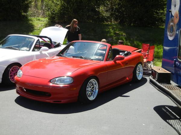 Miata at CorkSport OCC meet