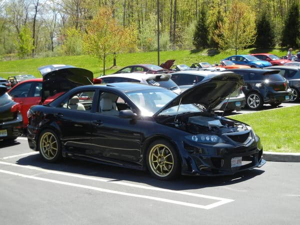 Mazdaspeed 6 at CorkSport OCC meet