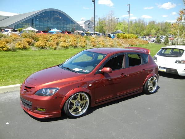 Mazdaspeed 3 at CorkSport OCC Meet