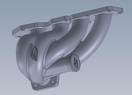 CorkSport Exhaust Manifold
