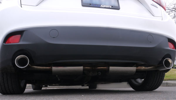 2014-Mazda-3-Axle Back Exhaust