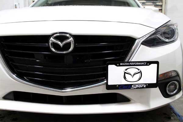 CorkSport 2014+ Mazda 3 License Plate Relocation Kit