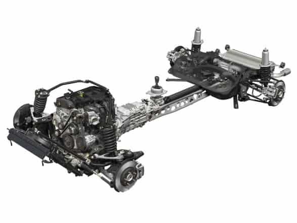 2016 Mx5 Miata Chassis