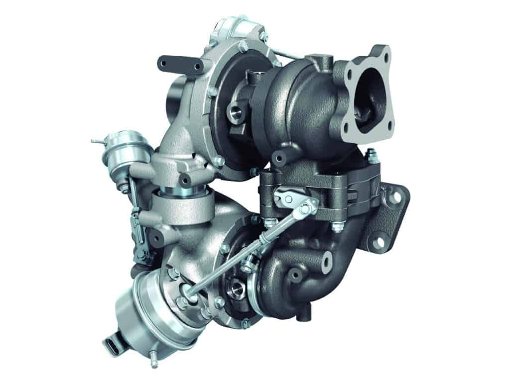 Two-stage-Mazda-Corksport-Mazdaspeed-Turbocharger
