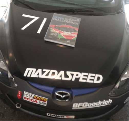 Mazdaspeed race