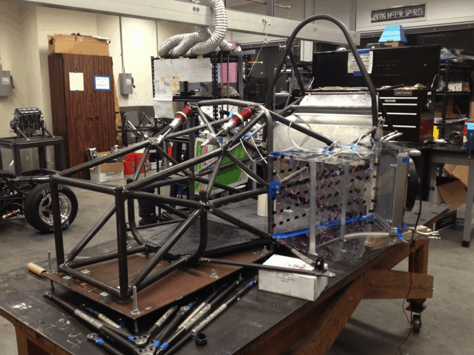 FSAE Race Car Frame