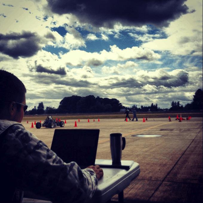 FSAE Race Test Track