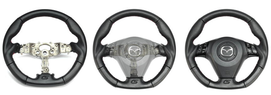 Installing Mazdaspeed 3 Steering Wheel