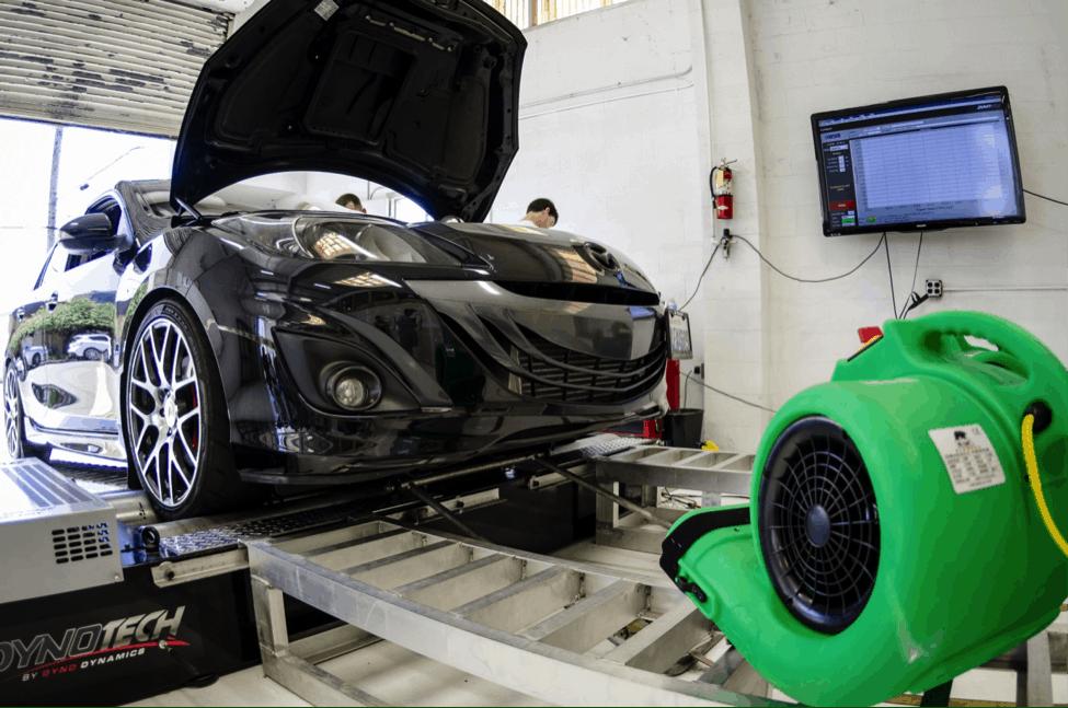 More Mazda Dyno Testing