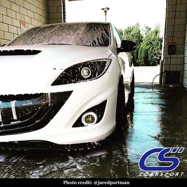 A good wash keeps your Mazda looking good and preserves its paint.