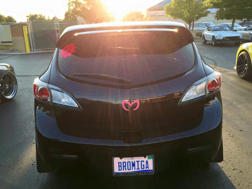 Lindsay Cardwell's Mazdaspeed.