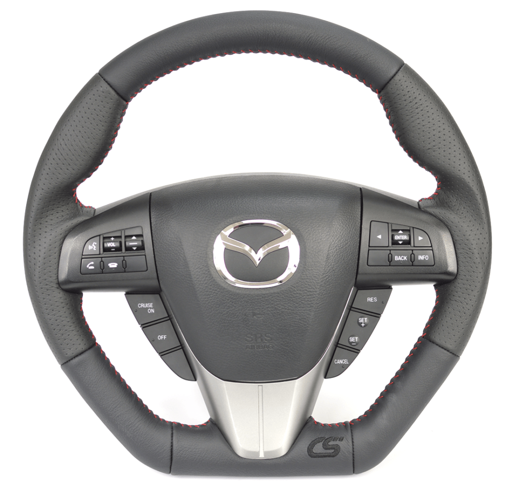 Steering wheel upgrade for the 2010-2013 Mazdaspeed 3 and Mazda 3.
