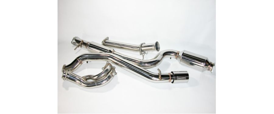 CorkSport Turbo Back Exhaust System