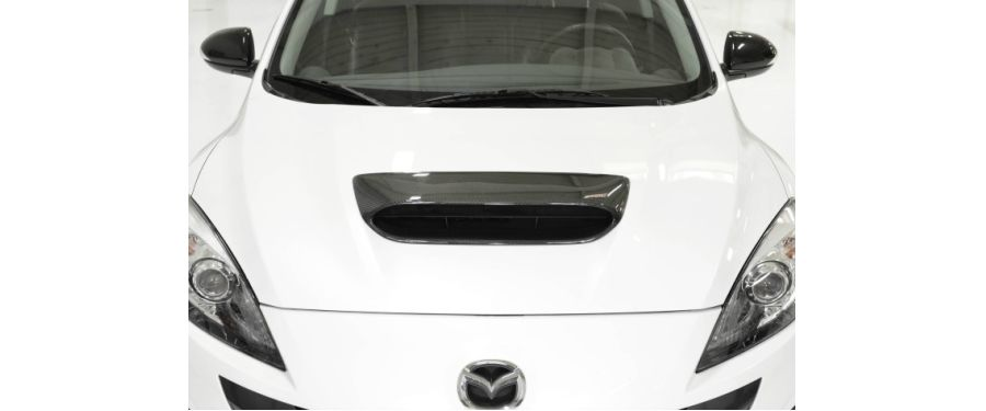 CorkSport Mazdaspeed 3 Hood Scoop