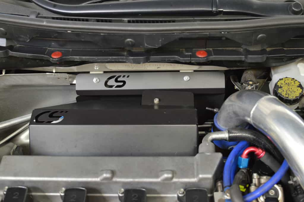 firewall heat shield engine bay mazdaspeed