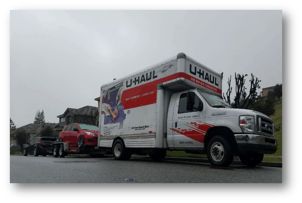 Moving Truck from Cali to Vancouver