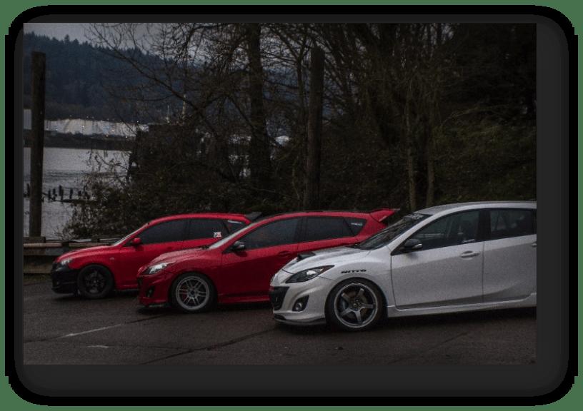 Corksport Mazdaspeed to Vancouver
