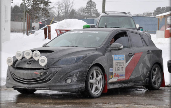 2011 MazdaSpeed 3 Rally Car