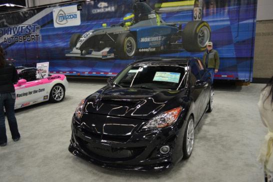 CorkSport MazdaSpeed 3 at the Portland Auto Show
