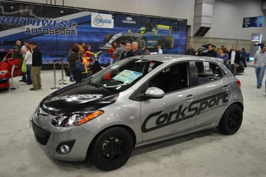 CorkSport Mazda 2 at the Portland Auto Show