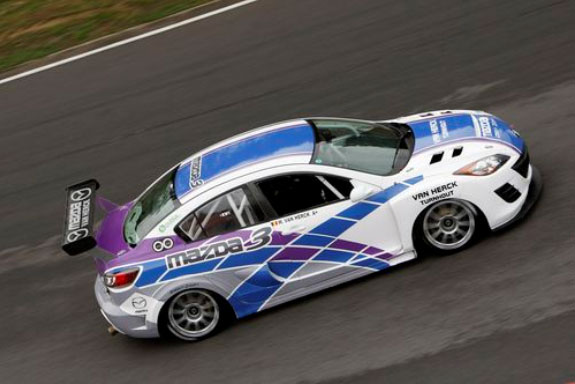 Garage Van Herck 20B Mazda 3 Race car