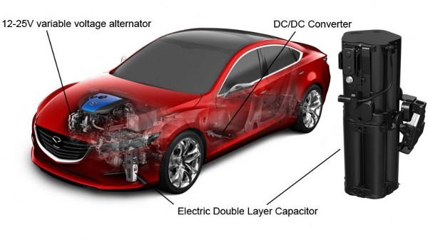 i-ELOOP: Mazda Reveals New Regenerative Braking System